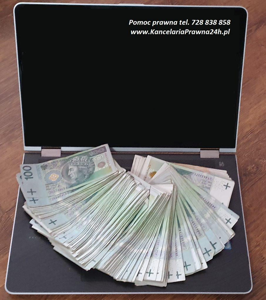 Kradzież pieniędzy z konta bankowego